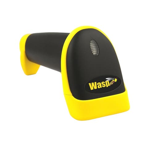 Wasp 633808121662 Wasp WLR8950 Long Range CCD Barcode Scanner (USB) - Cable Connectivity - 450 scan/s - 12 Scan Distance -