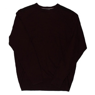 Ryan Seacrest Mens Pullover Casual Crewneck Sweater