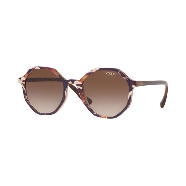 Vogue VO5222S 269513 52 Top Havana/text Beige Brown Woman Irregular Sunglasses. Opens flyout.