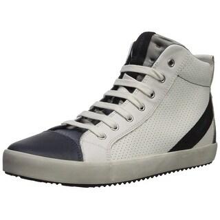 Kids Geox Boys Alonisso Hight Top Lace Up Fashion Sneaker