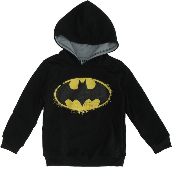 DC COMICS LEGO BATMAN Logo Hooded Long Sleeved HOODIE