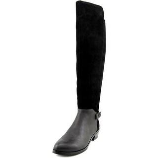 Kelsi Dagger Vlad Women Round Toe Suede Knee High Boot