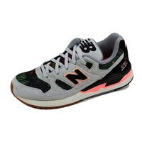 New Balance Women's 530 Steel Grey/Black-Coral W530MON