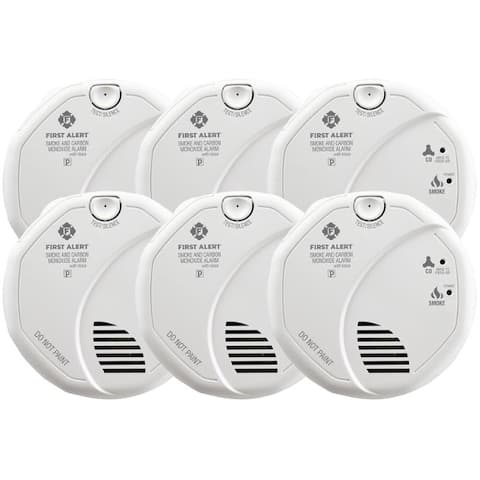 First Alert Hard-Wired w/Battery Back-up Photoelectric Smoke and Carbon Monoxide Detector