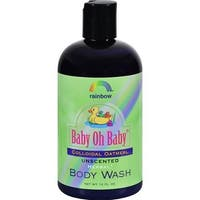 Rainbow Research - Unscented Baby Oh Baby Organic Herbal Wash Colloidal Oatmeal ( 2 - 12 FZ)