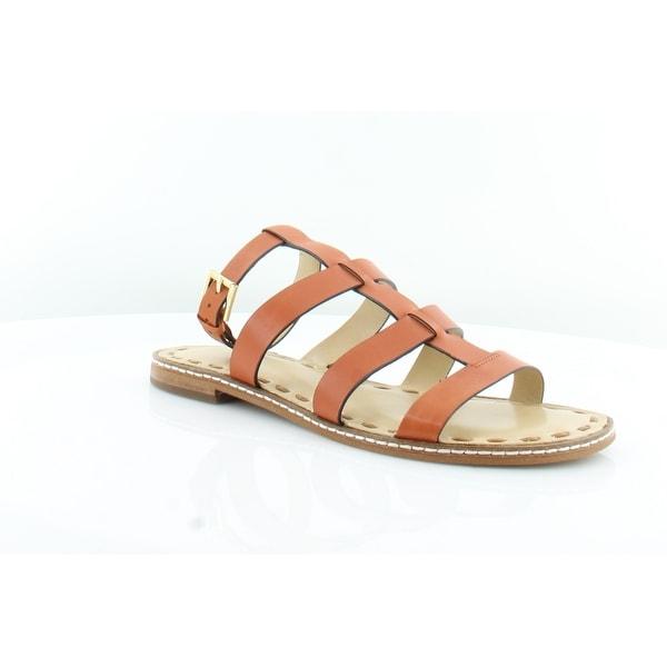 Michael Kors Fallon Flat Sandal Women's Sandals & Flip Flops Acorn