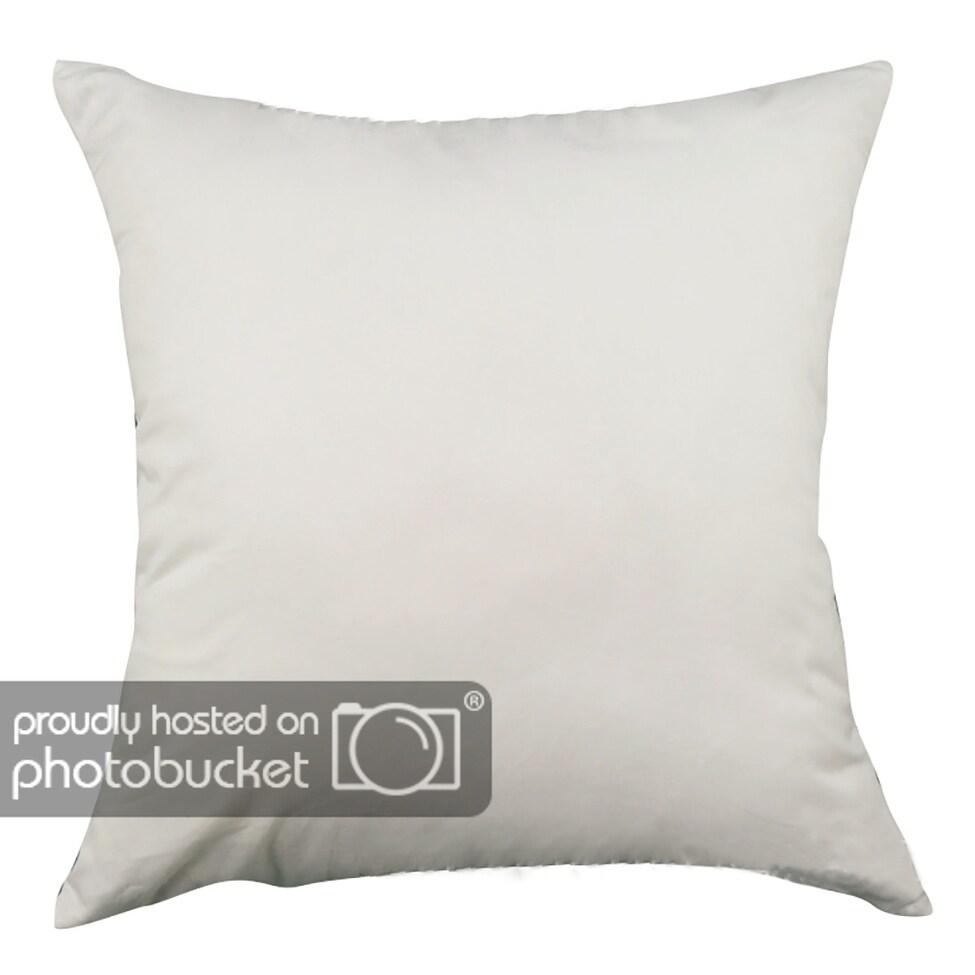 Chezmax Square Black And White Geometric Printed Cushion Cover Cotton Throw Pillow Case Sham Slipover Pillowslip
