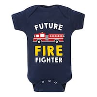 Future Firefighter  - Infant One Piece