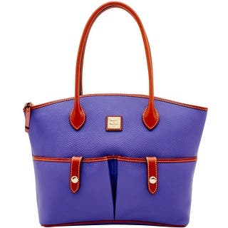 Dooney Bourke Pebble Grain Crescent Tote Introduced By At 268 In