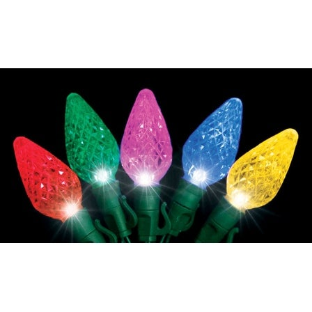 Shop Celebrations 4001193s 02ac Platinum Led C9 Light Set