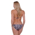Women's Green Camo Authentic True Timber Basic Bikini BOTTOM ONLY Beach Swimwear - Thumbnail 2