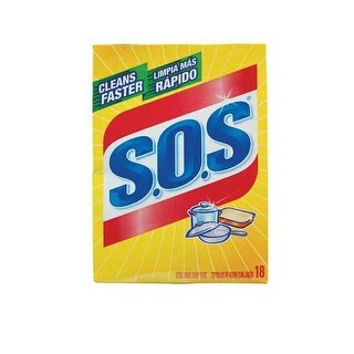 SOS 98021 Steel Wool Soap Pads