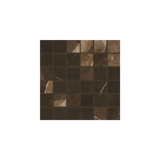 """Daltile MA822MSMTP  Marble Attache - 2"""" x 2"""" Square Mosaic Wall Tile - Unpolished Marble Visual"""