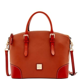 Dooney & Bourke Oberland Domed Satchel (Introduced by Dooney & Bourke at $298 in Feb 2017) - Honey