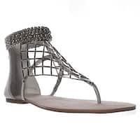 Jessica Simpson Womens Kyla Split Toe Casual T-Strap Sandals