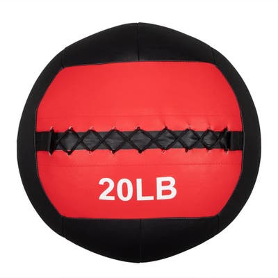 Soft Wall Medicine Ball 20 lbs, for Exercise, Rehab, Core Strength