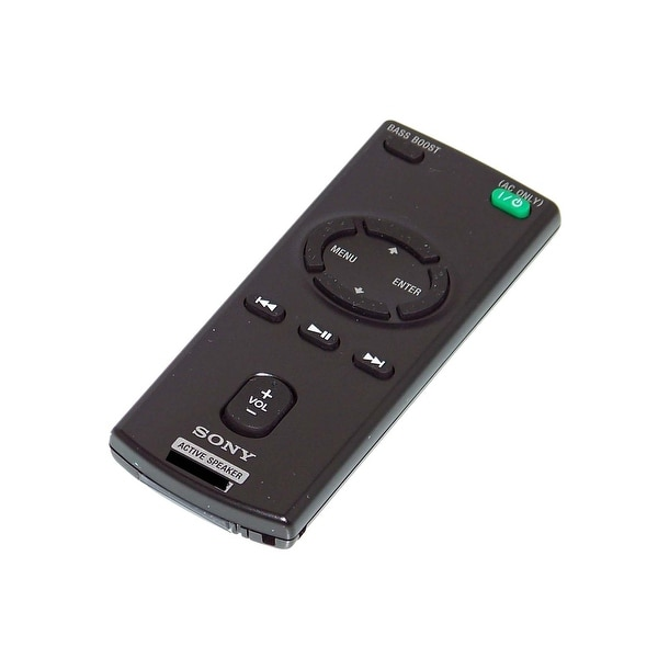 OEM Sony Remote Control Originally Shipped With: RDPV20iP, RDP-V20iP, RDPV20iPBLK, RDP-V20iPBLK RDPV20iPRED RDP-V20iPRED