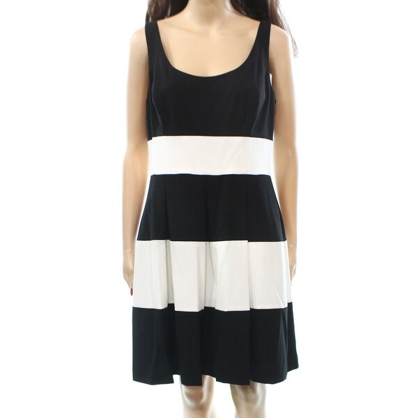1f3fc787855 Shop Lauren Ralph Lauren NEW Black Dress Women s Size 12P Petite Pleated - Free  Shipping On Orders Over  45 - Overstock.com - 17856416