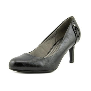 Life Stride Lively Women W Round Toe Synthetic Black Heels