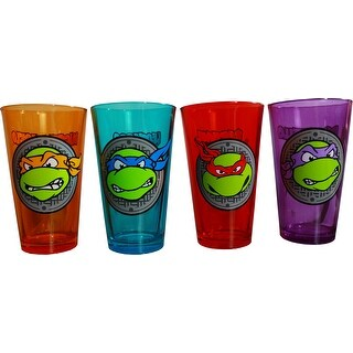 Teenage Mutant Ninja Turtles Pint Glass - Set of 4