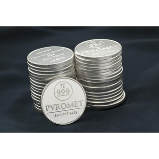 1 Troy oz Bullion Round 10 pack - Pyromet