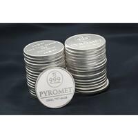 1 Troy oz Bullion Round 10 pack - Pyromet