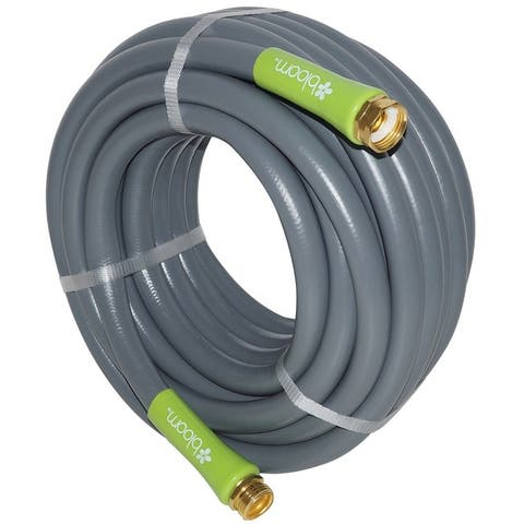 "Bloom 71713BL No Kink Heavy-Duty Garden Hose, 5/8"" x 50'"