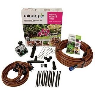 Raindrip SDFSTH1P Flower Shrub & Tree Kit With Timer