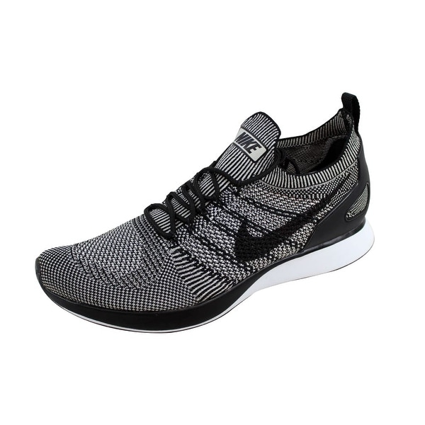 4775fba2446 Shop Nike Men s Air Zoom Mariah Flyknit Racer Pale Grey Black-Solar ...