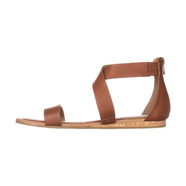 Steve Madden Womens Halley Open Toe Casual Strappy Sandals