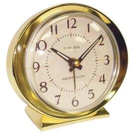 Westclox Baby Ben Gld Alarm Clock