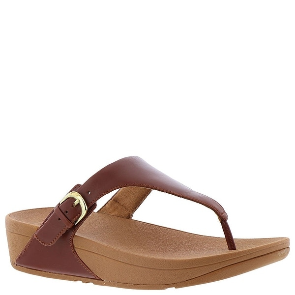 0c58c4070efe3 Shop FitFlop Women's The Skinny Leather Toe-Thong Sandal - Free ...