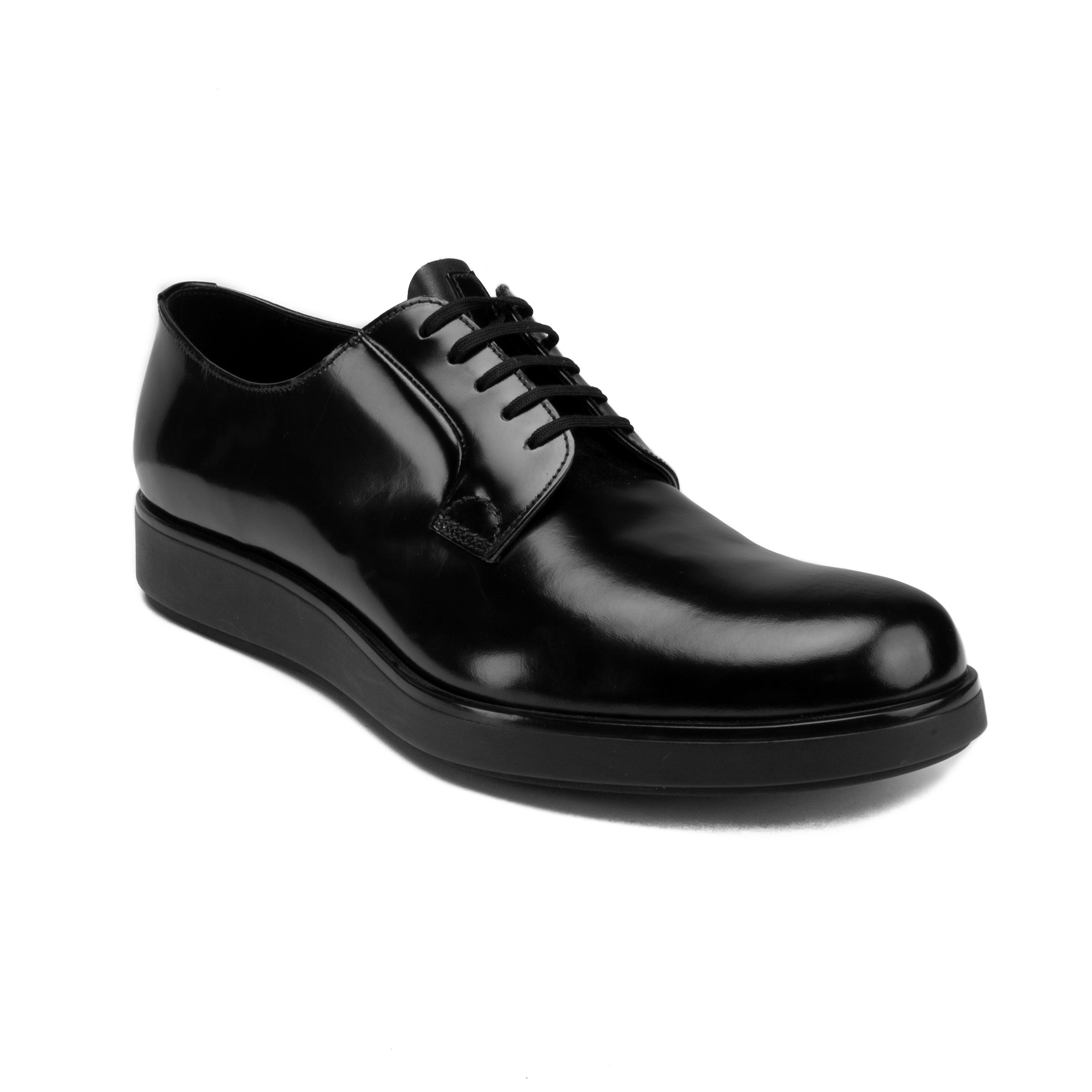prada derby shoes
