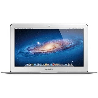 Apple MacBook Air MD223LL/A Intel Core i5-3317U X2 1.7GHz 4GB 64GB SSD, Silver (Scratch and Dent)
