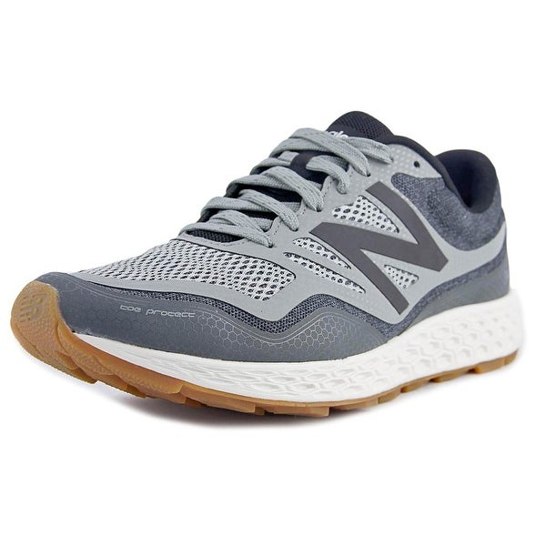 New Balance GOBI Men 2E Round Toe Synthetic Gray Trail Running