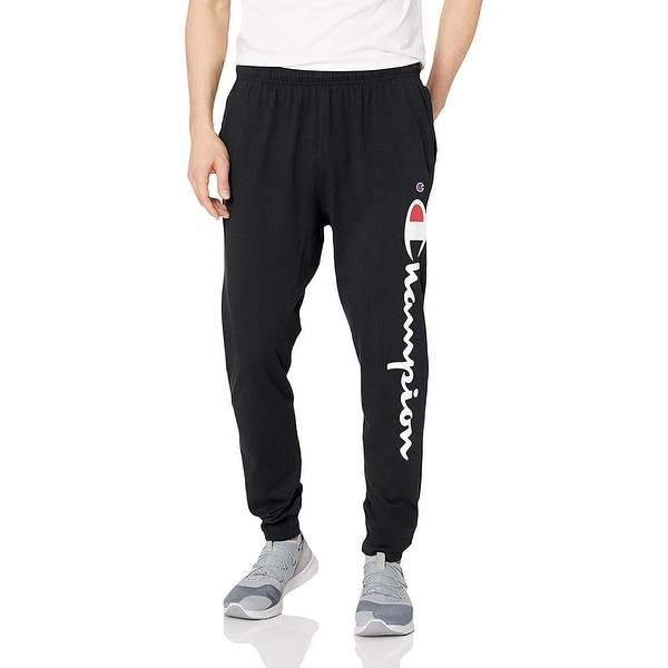 311e6fcee Shop Champion Mens Graphic Jersey Jogger, Adult - Free Shipping On Orders  Over $45 - Overstock - 28329967