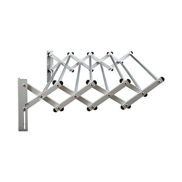 Greenway GCL31AL Indoor/Outdoor Foldable Drying Rack with Optional Wall-Mount - STAINLESS STEEL