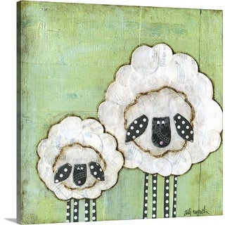 """I Love Ewe So Much"" Canvas Wall Art"