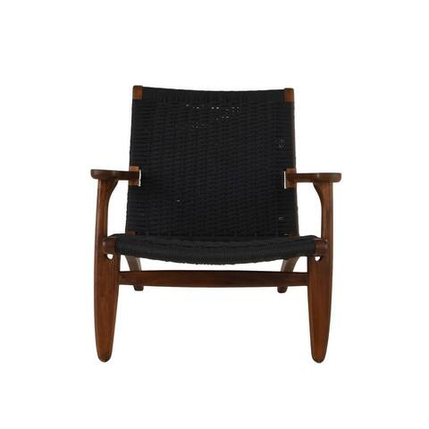Callen Ash Chair with Woven Upholstery