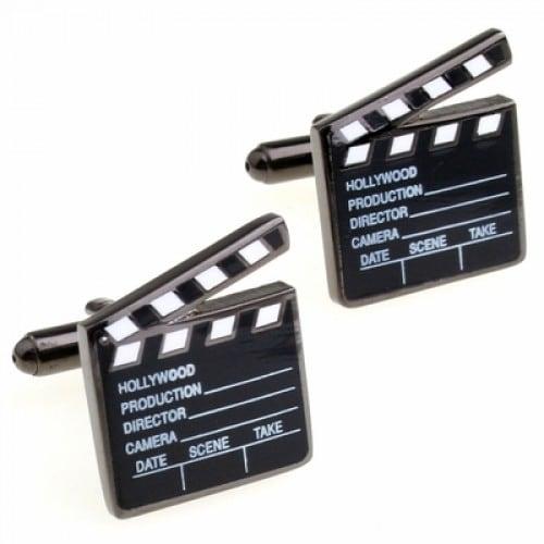 Hollywood Clapper Board Director Film Moviescufflinks