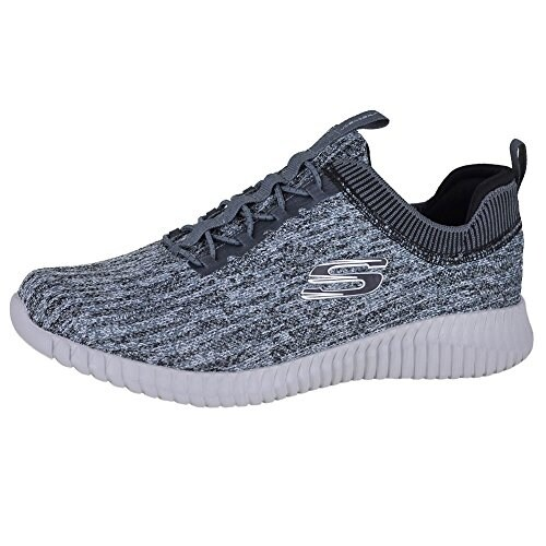 6909efa36bf31 Shop Skechers Elite Flex - Hartnell Gray/Black Mens Sneakers Size 10.5W -  Free Shipping Today - Overstock.com - 20976268