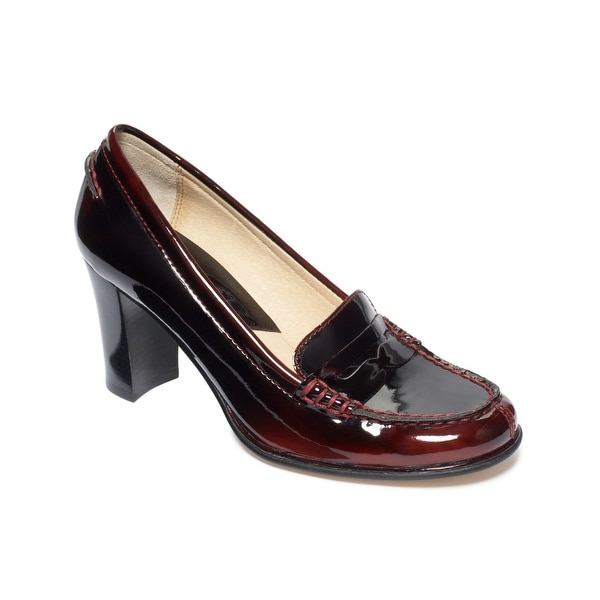 Michael Michael Kors Womens Bayville Loafer Closed Toe Classic Pumps