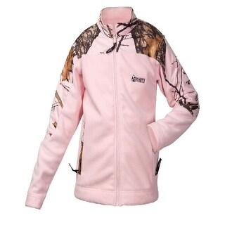 Rocky Outdoor Jacket Girls Silenthunter Fleece Light Mossy Oak HW00048