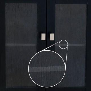 Elements VGLASS-03 Replacement Glass Door Panel for VAN063 Vanity Cabinet - N/A