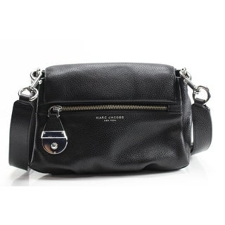 Marc Jacobs NEW Black Pebble Leather The Standard Mini Shoulder Bag