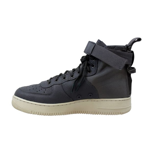 Shop Nike SF AF1 Mid Dark GreyLight Bone Air Force 1