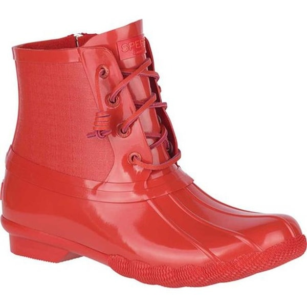 05d82459574 Shop Sperry Top-Sider Women's Saltwater Duck Boot Red Rubber - On ...