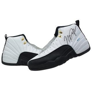 Michael Jordan Chicago Bulls Signed Pair of Air Jordan XII Shoes JSA UDA