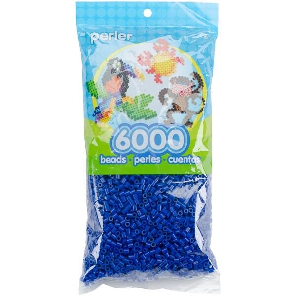 Perler Beads 6,000/Pkg-Dark Blue