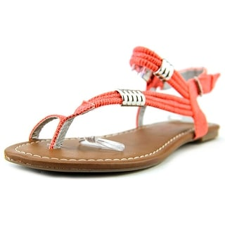 Pink & Pepper Hadly Open Toe Canvas Gladiator Sandal
